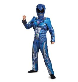 Disguise COSTUME ENFANT BLUE POWER RANGER