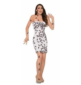 Forum Novelty COSTUME ADULTE ROBE DE COQUERELLES