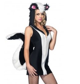 Leg Avenue COSTUME ADULTE MOUFETTE