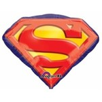 Anagram BALLON MYLAR SUPERSHAPE - 26PO EMBLÊME SUPERMAN