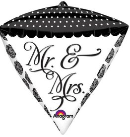Anagram BALLON MYLAR DIAMONDZ MR ET MRS