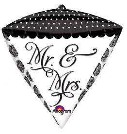 Anagram BALLON MYLAR DIAMONDZ MR ET MRS