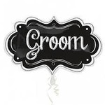 Anagram BALLON MYLAR SUPERSHAPE - GROOM