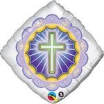 Qualatex BALLON MYLAR 18PO - RELIGIEUX