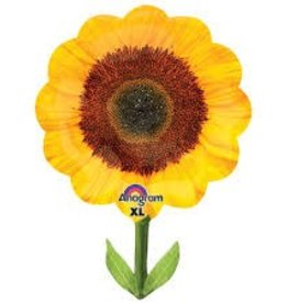 Anagram BALLON MYLAR SUPERSHAPE TOURNESOL