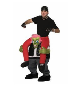 Forum Novelty COSTUME ADULTE ''À DOS DE ZOMBIE BIKER'' - STD