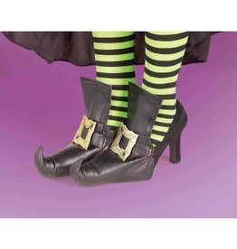 Forum Novelty WITCH SHOE COVERS-GOLD