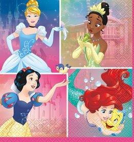 Unique SERVIETTES DE TABLE (16) - PRINCESSES DISNEY