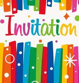 Unique INVITATION (8) - HAPPY BIRTHDAY ARC-EN-CIEL