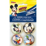 Unique BALLES REBONDISSANTES (4) - MICKEY MOUSE