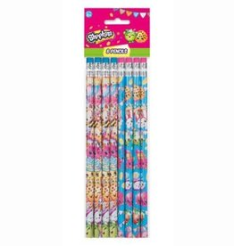 Unique CRAYONS DE PLOMB (8) - SHOPKINS