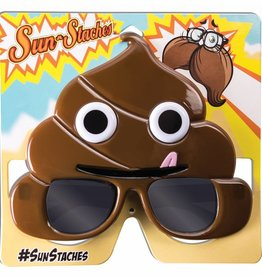 Forum Novelty LUNETTES SUNSTACHES EMOJI CACA