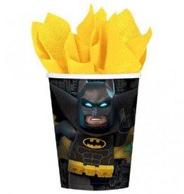 Amscan VERRES 9OZ - BATMAN LEGO (8)