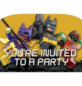 Amscan INVITATIONS - BATMAN LEGO (8)