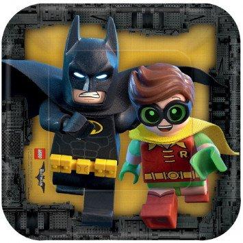 Amscan ASSIETTES 7PO - BATMAN LEGO (8)