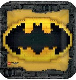 Amscan ASSIETTES 9PO - BATMAN LEGO