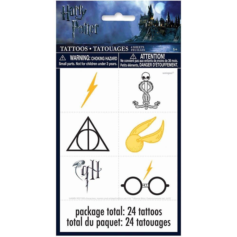 Unique Tatouages Harry Potter 24 Party Shop