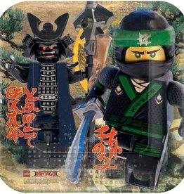Amscan ASSIETTES 9PO - LEGO NINJAGO (8)