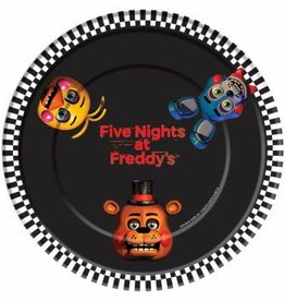 """Forum Novelty ASSIETTES 7"""" (8) - FIVE NIGHTS AT FREDDY'S"""