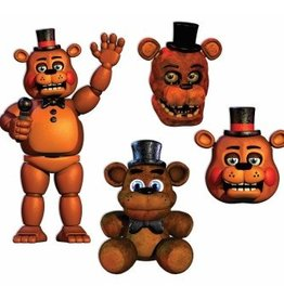 Forum Novelty DÉCOUPAGES (4 MCX) - FIVE NIGHT AT FREDDY'S