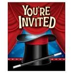 Creative Converting CARTE D'INVITATIONS - MAGICIENS (6)