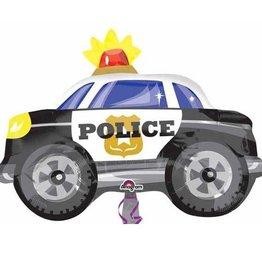 Anagram BALLON MYLAR 18PO VOITURE DE POLICE
