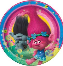 "Unique ASSIETTES 9"" (8) - TROLLS"