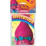 Unique INVITATIONS (8) - TROLLS