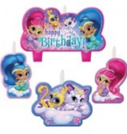 Amscan ENSEMBLE DE CHANDELLES D'ANNIVERSAIRE - SHIMMER AND SHINE