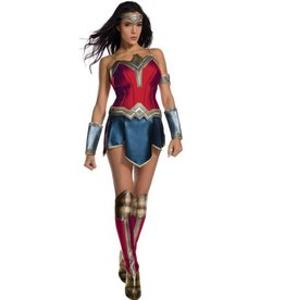 RUBIES COSTUME JUSTICE LEAGUE - WONDER WOMAN DELUXE