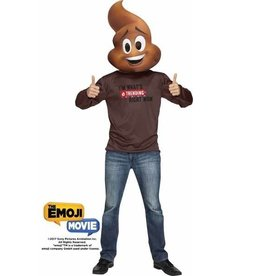 FUN WORLD *COSTUME ADULTE EMOJI LE FILM - POOP JR. - STD