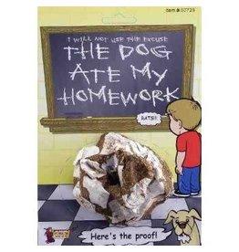 "Forum Novelty FARCE ""DOG ATE MY HOMEWORK"""