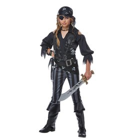 California Costumes COSTUME ENFANT PIRATE REBELLE -