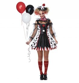 California Costumes *COSTUME ADULTE CLOWN DÉRANGÉE -