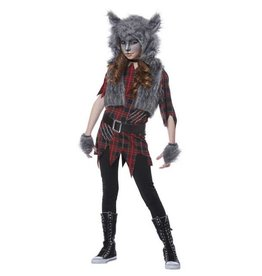 California Costumes COSTUME ENFANT FILLE LOUP-GAROU -