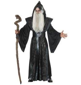 California Costumes COSTUME ADULTE SORCIER SOMBRE