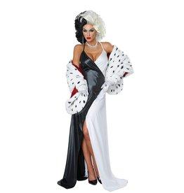 California Costumes COSTUME ADULTE DIVA CRUELLE -