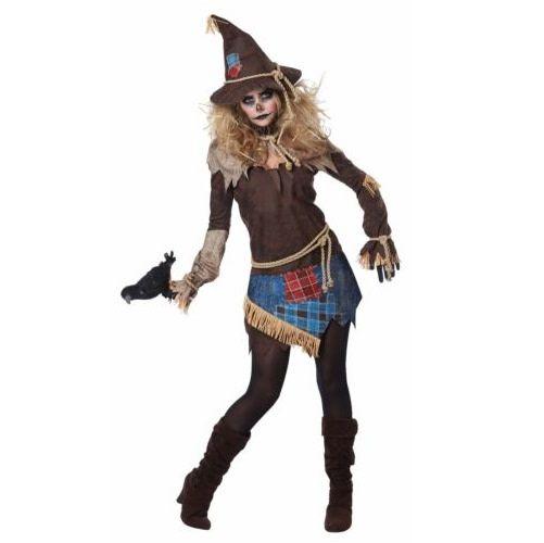 California Costumes Costume Adulte épouvantail Terrifiant Party Shop