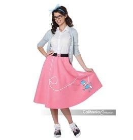California Costumes JUPE ADULTE ANNÉES 50 -