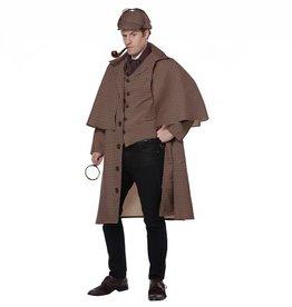California Costumes COSTUME ADULTE DETECTIVE SHERLOCK HOLMES