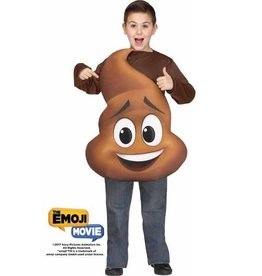 FUN WORLD COSTUME ENFANT EMOJI LE FILM - POOP JR.