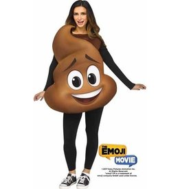 FUN WORLD *COSTUME ADULTE EMOJI LE FILM - POOP JR. TUNIC