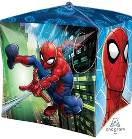 Anagram BALLON MYLAR CUBEZ SPIDERMAN
