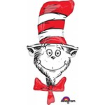 Anagram BALLON MYLAR SUPERSHAPE - DR.SEUSS THE CAT IN THE HAT