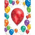 Creative Converting INVITATION (8) - MOTIF BALLONS