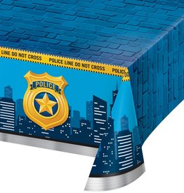 Creative Converting NAPPE EN PLASTIQUE 54X102 - POLICE