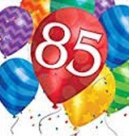Creative Converting SERVIETTES DE TABLE - 85 ANS BALLONS (16)