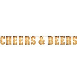 Creative Converting BANNIÈRE DE FÊTE - CHEERS & BEERS