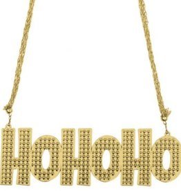 Amscan NECKLACE HO HO HO