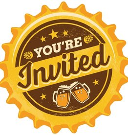 Creative Converting INVITATIONS (8) - BIÈRE/VIN